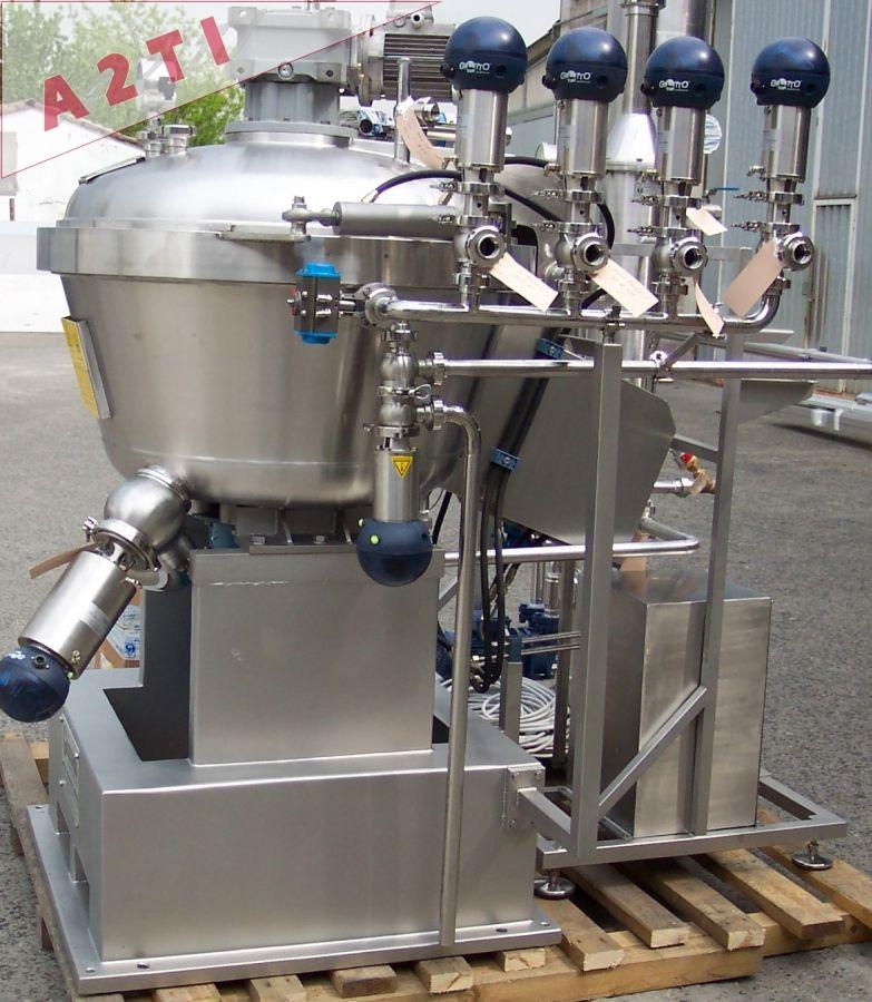 ensemble machine boîtes pompe sous vide